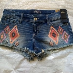 Hollister tribal Jean shorts